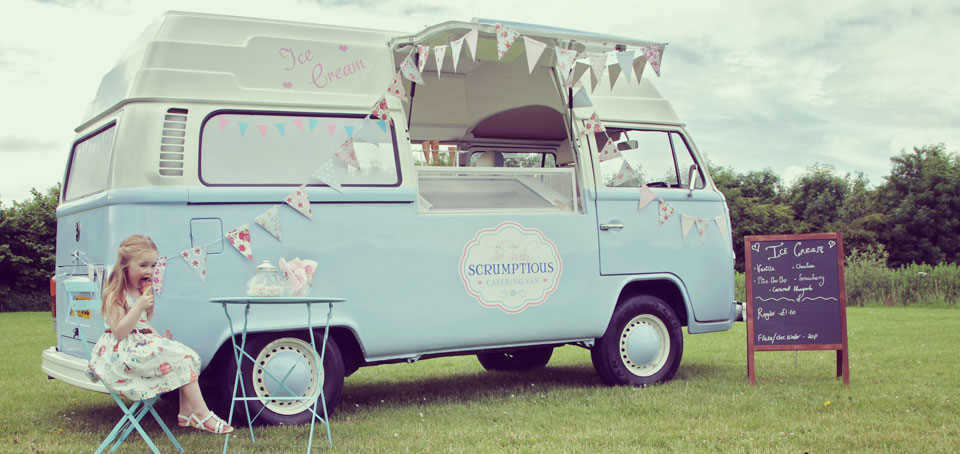 Truly Scrumptious Catering Van Hire Our Lovingly Restored Vintage VW Ice Cream And Catering Van